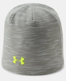 New Arrival  Boy's UA Storm Fleece Beanie  3  Colors Available $30