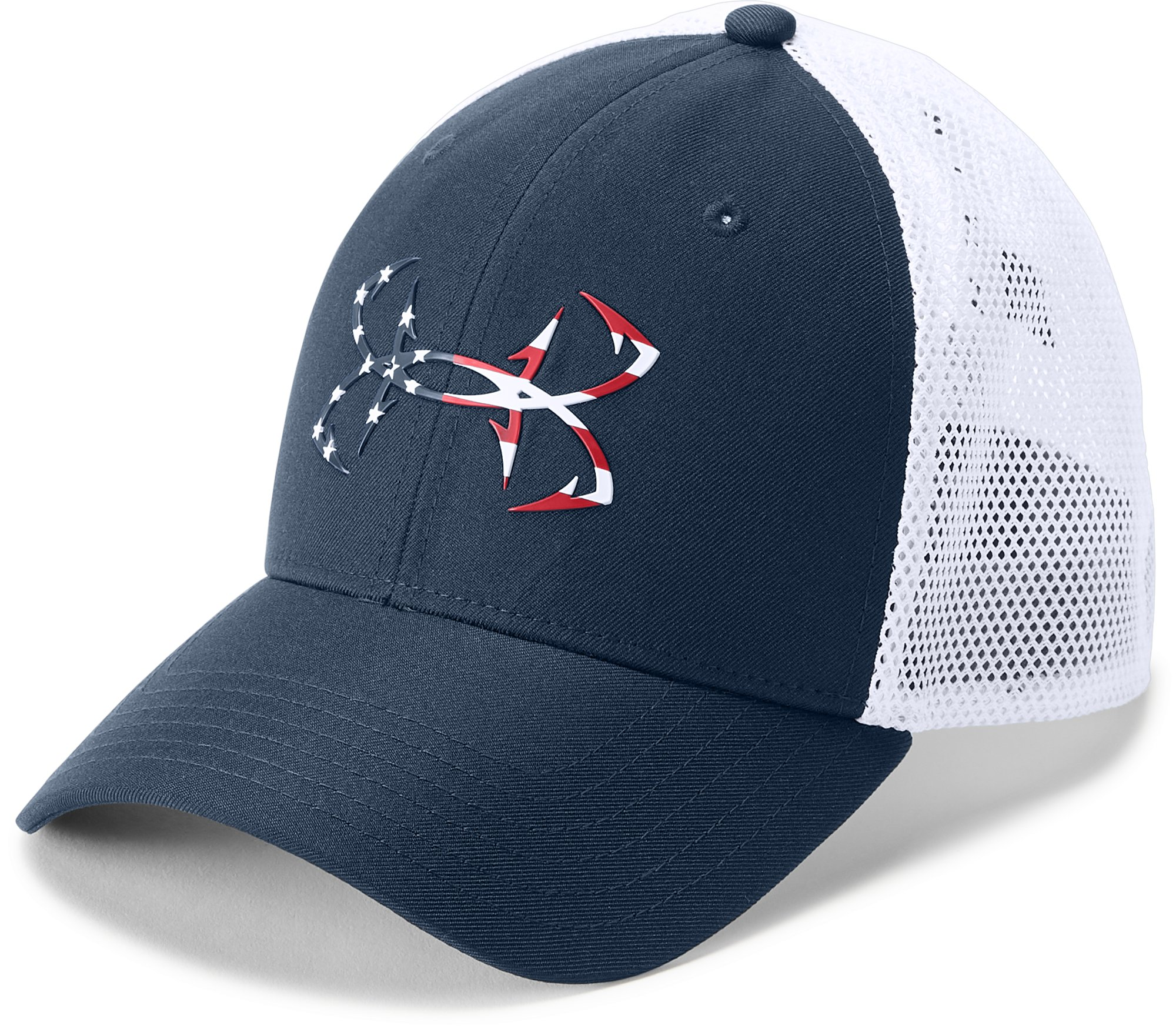 Men's UA Fish Hook Cap, Academy,