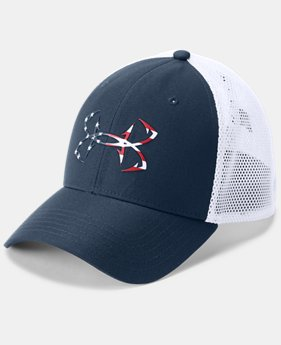 Men's UA Fish Hook 2.0 Cap  3 Colors $25