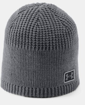 New Arrival Men's UA Golf Knit Cuff Beanie  1  Color Available $25