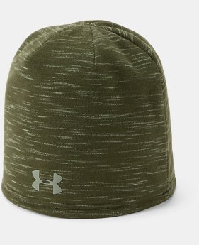 New Arrival Men's UA Storm Fleece Beanie  1  Color Available $30