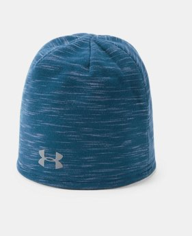 Under Armour Mens Truckstop Beanie 2.0 Academy  (408 )  Black One Size Under  Armour Accessories 1318517 6a0d134d3774