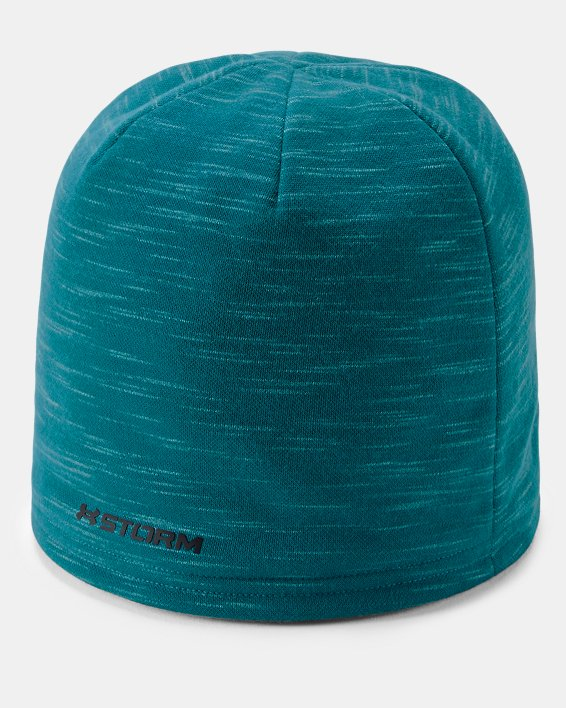 Men's UA Storm Fleece Beanie, Blue, pdpMainDesktop image number 1