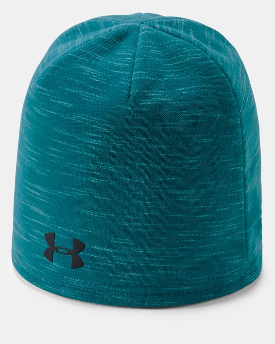 Men's UA Storm Fleece Beanie, Blue, pdpMainDesktop image number 0