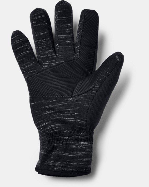 Men's UA Storm Fleece Gloves, Black, pdpMainDesktop image number 1