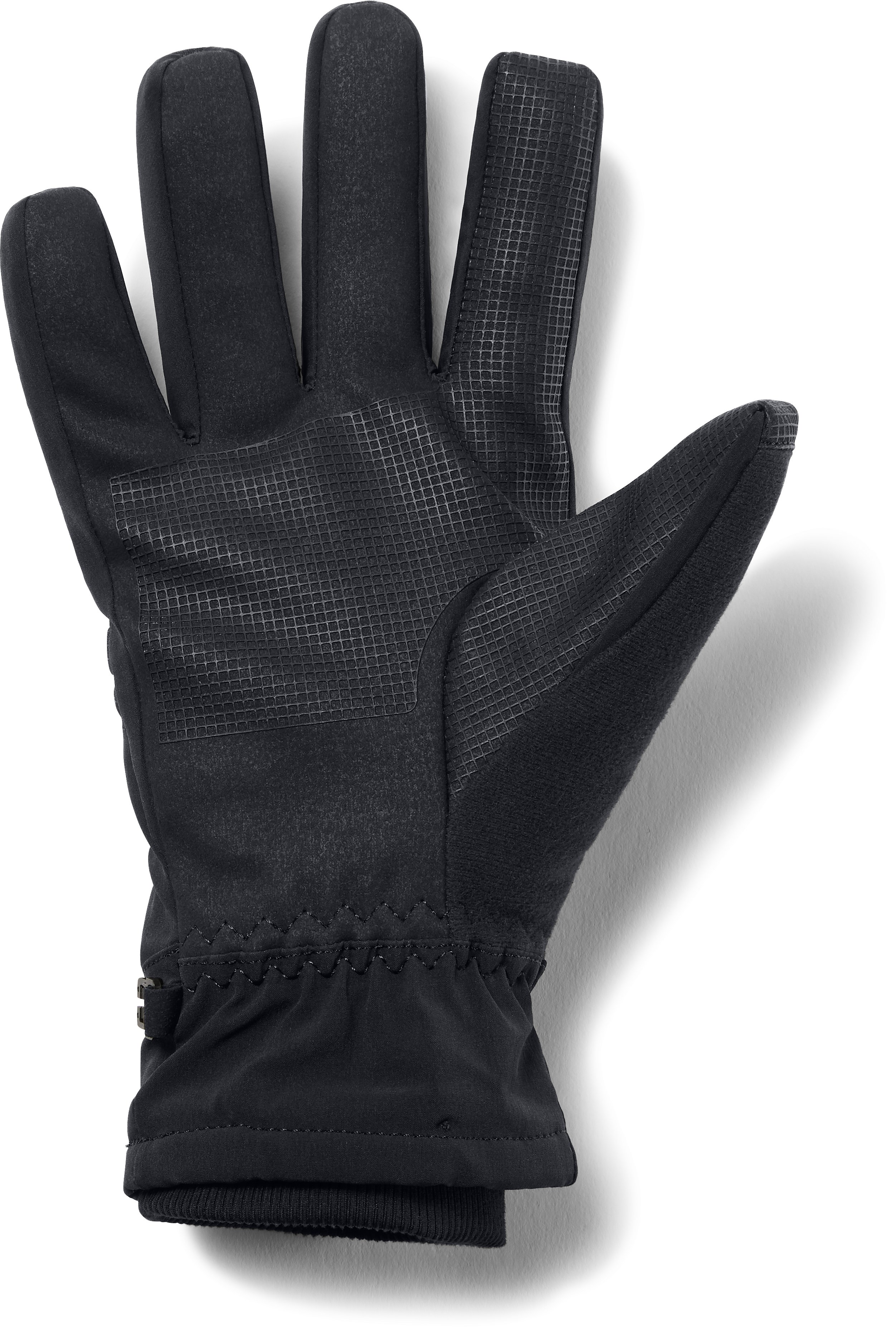 Men's UA Storm Spacer Gloves, Black ,