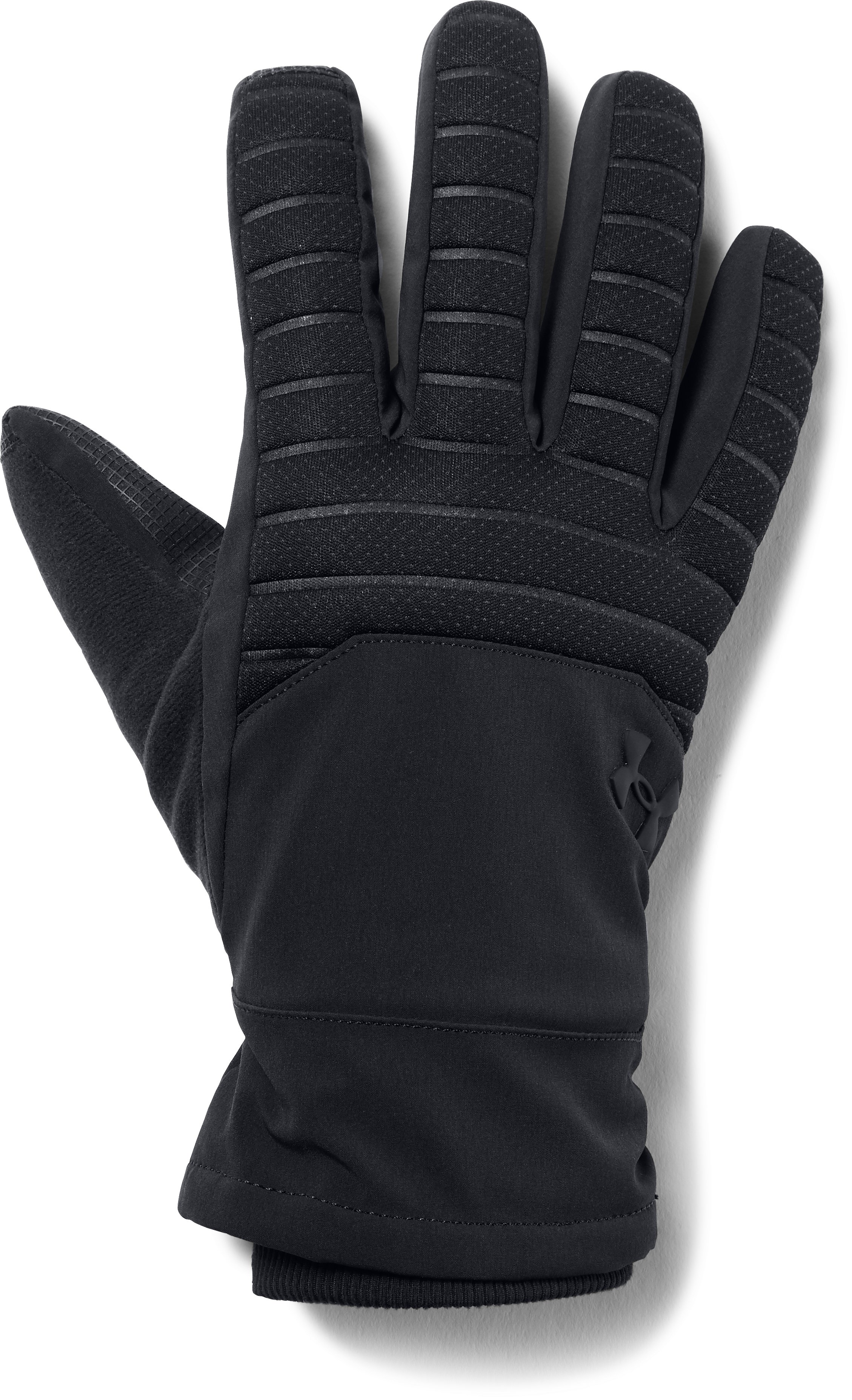 Men's UA Storm Spacer Gloves, Black