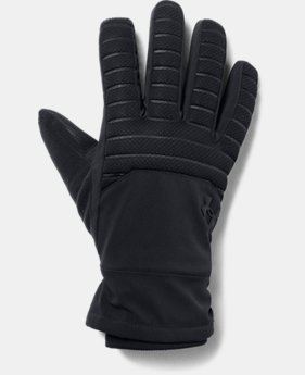 New Arrival Men's UA Storm Spacer Gloves  1  Color Available $50