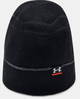 Men's UA Vented Run Beanie  1  Color Available $35
