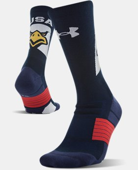 UA Americana Crew Socks   2  Colors Available $15