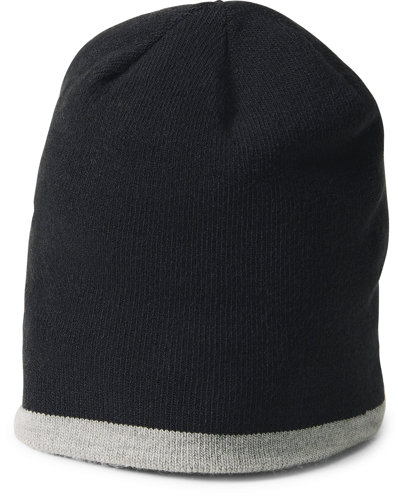 Boys' Pre-School UA Double Layer Reversible Beanie, Black