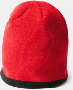 New Arrival Boys' Pre-School UA Double Layer Reversible Beanie  1 Color $21.99