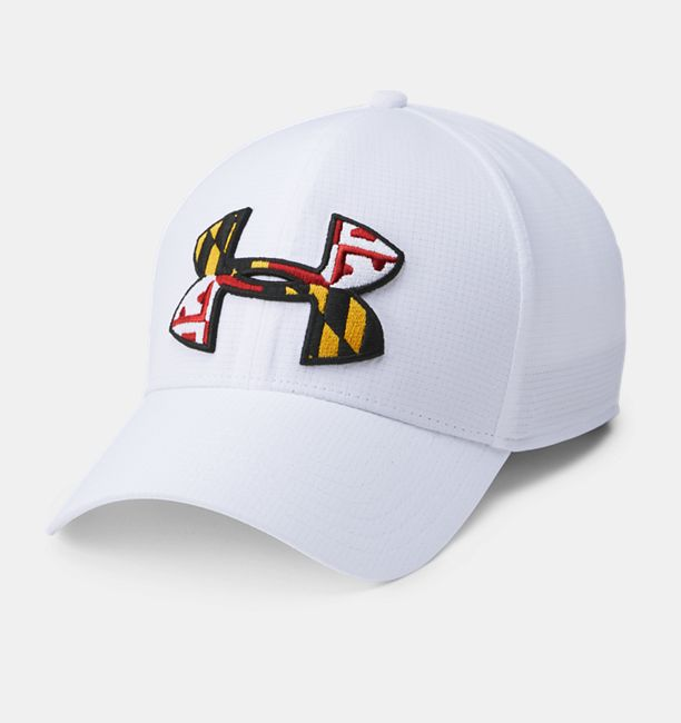 Men s UA Maryland Flag ArmourVent™ Cap  c2b9a44227c