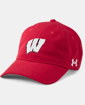 New Arrival Men's Wisconsin ArmourVent™ Cap   $34.99