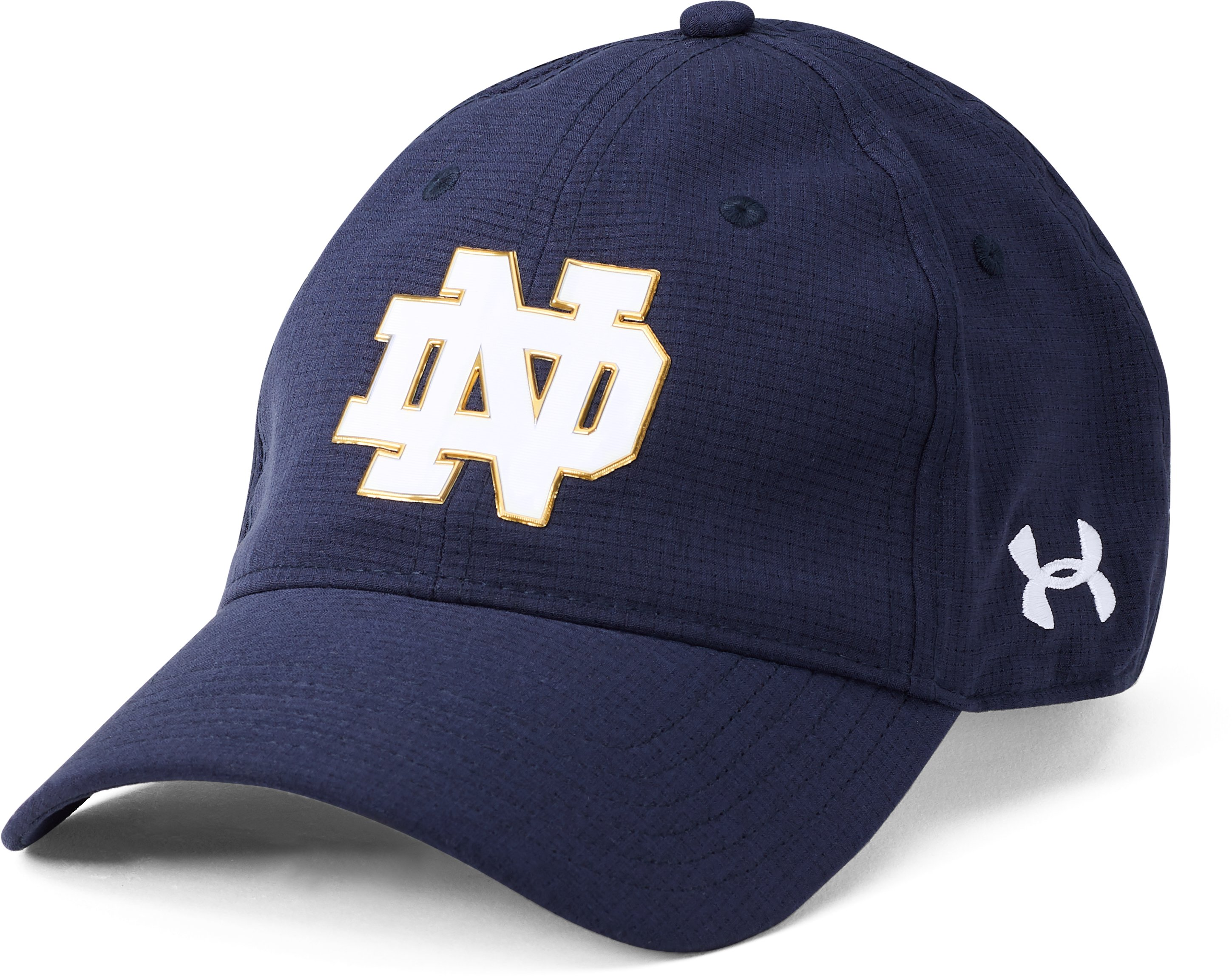 Men's Notre Dame ArmourVent™ Cap, Midnight Navy, zoomed image