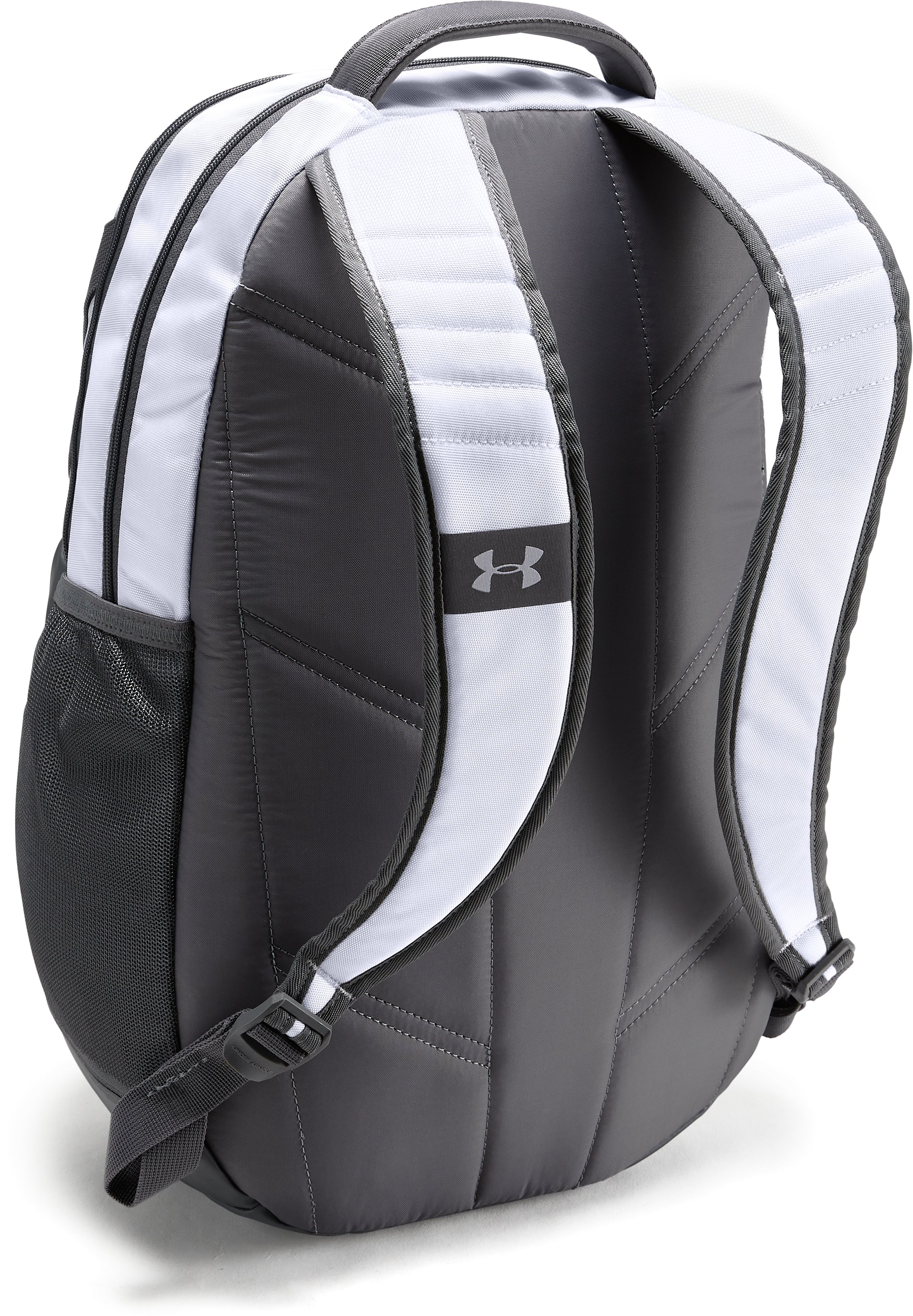 Notre Dame UA Hustle 3.0 Backpack, White,