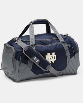 Notre Dame UA Undeniable 3.0 Medium Duffle Bag  1  Color Available $69.99