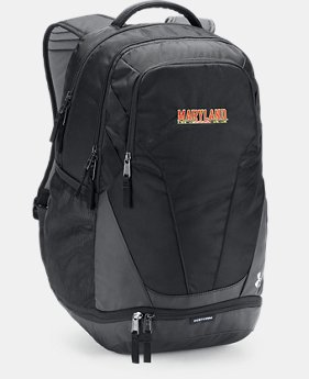 Maryland UA Hustle 3.0 Backpack  1  Color $69.99