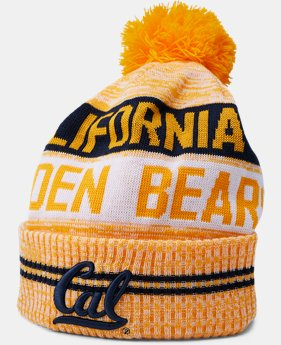 New Arrival Men's Cal Bears UA Pom Beanie  1 Color $34.99