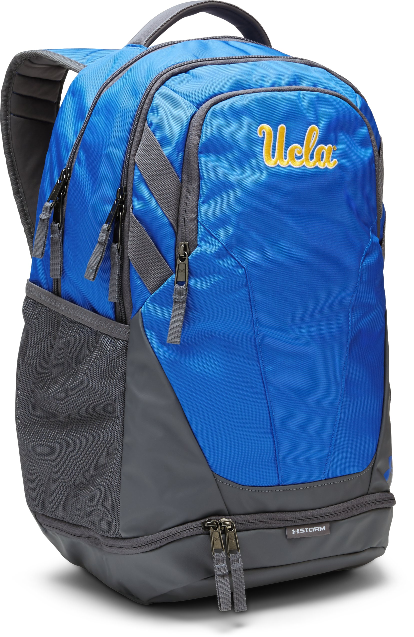 UCLA UA Hustle 3.0 Backpack, White,