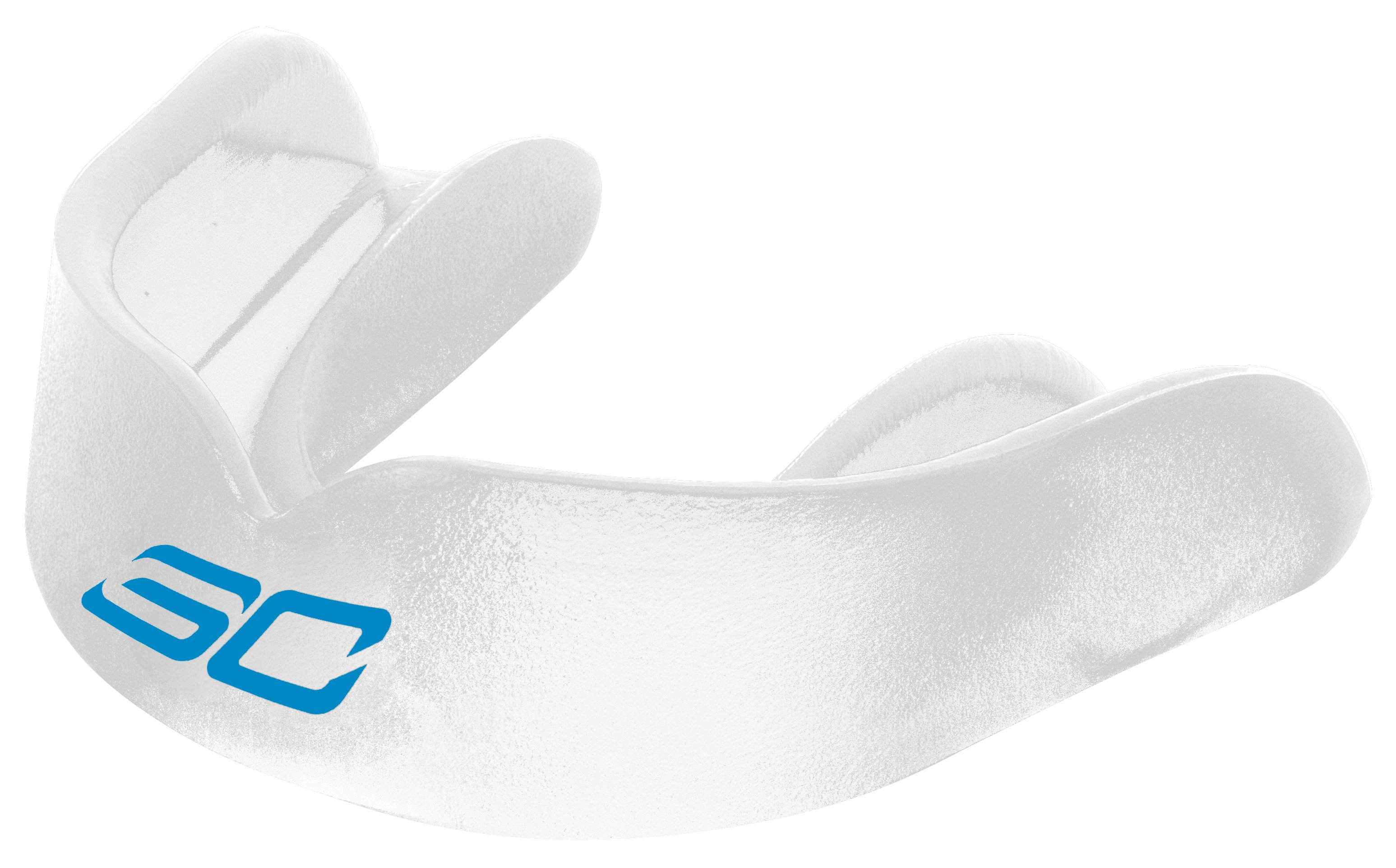 Men's SC30 Hoops Mouthguard, Clear, zoomed