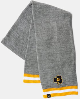 New Arrival Men's UA Notre Dame Iconic Stripe Scarf   1 Color $32.99