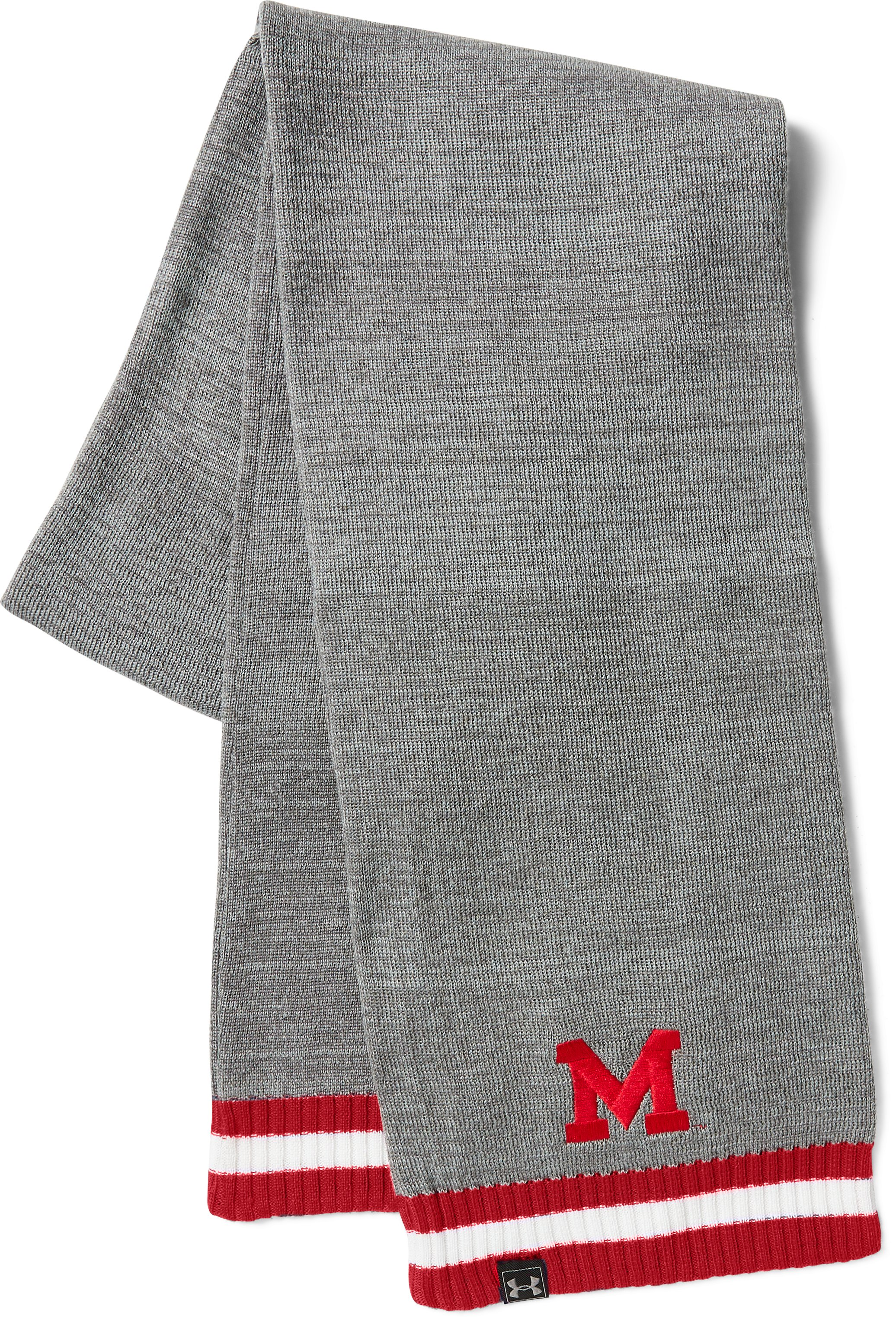 UA Maryland Iconic Stripe Scarf  1 Color $32.99