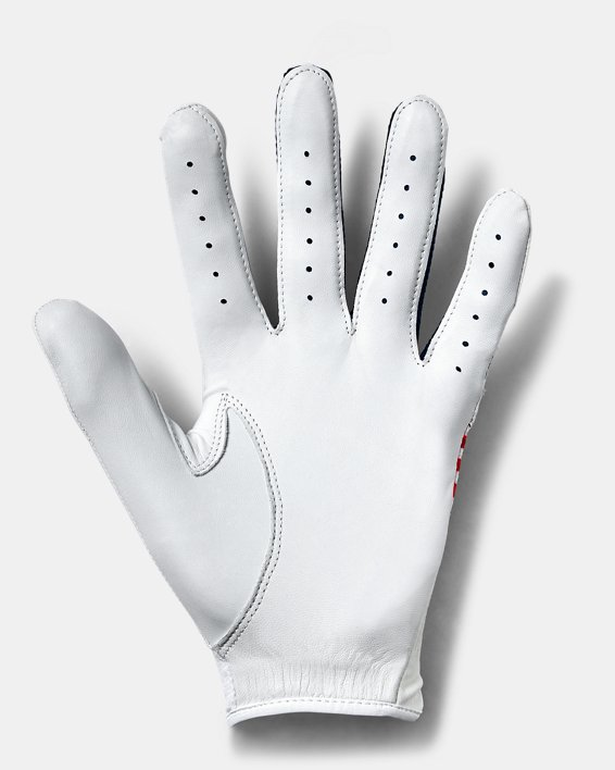 UA Iso-Chill Golf Glove, Red, pdpMainDesktop image number 1