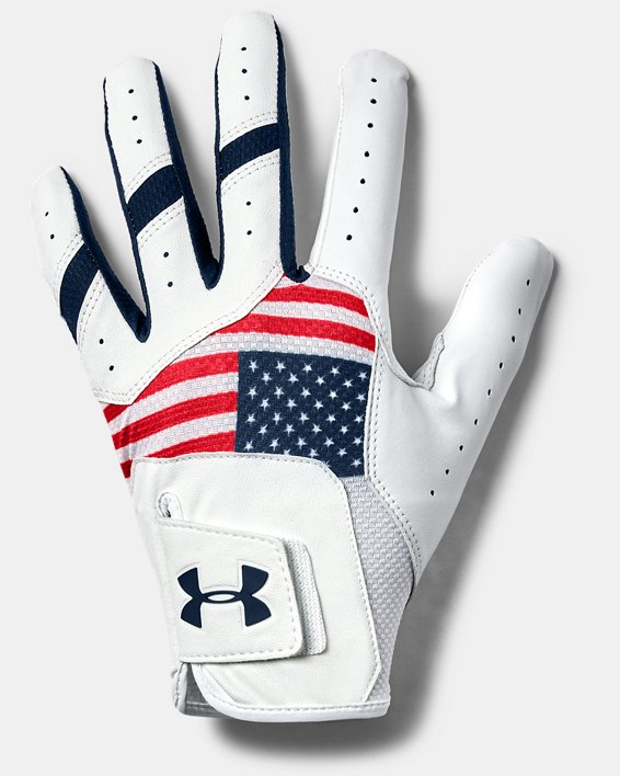 UA Iso-Chill Golf Glove, Red, pdpMainDesktop image number 0