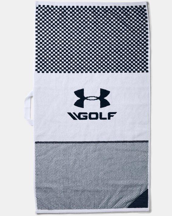 UA Large Golf Towel, Blue, pdpMainDesktop image number 1