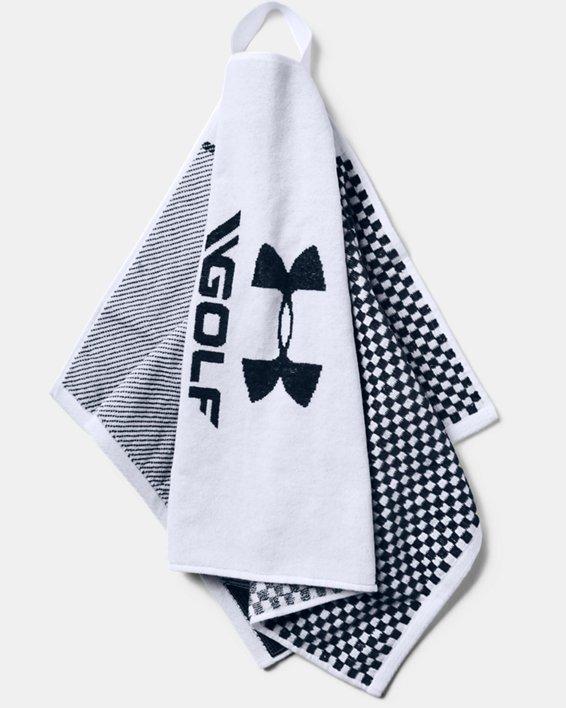 UA Large Golf Towel, Blue, pdpMainDesktop image number 0