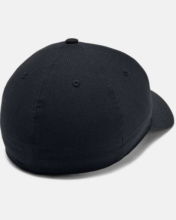 Men's UA ArmourVent™ Colorblock Cap, Black, pdpMainDesktop image number 1