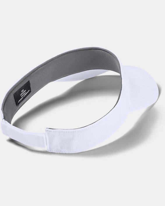 Men's Blank AV Visor, White, pdpMainDesktop image number 1