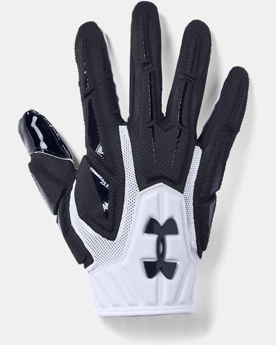 Men's UA Highlight - NFL Football Gloves, White, pdpMainDesktop image number 0