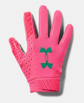faf0012640114 Men's UA Spotlight LE - NFL Football Gloves 5 Colors Available $50