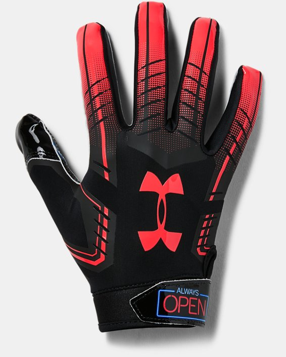 ensillar doble Malawi  Men's UA F6 Novelty Football Gloves | Under Armour
