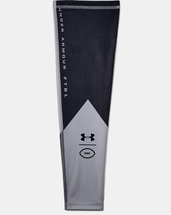 Men's UA Football Graphic Arm Sleeve, Gray, pdpMainDesktop image number 0