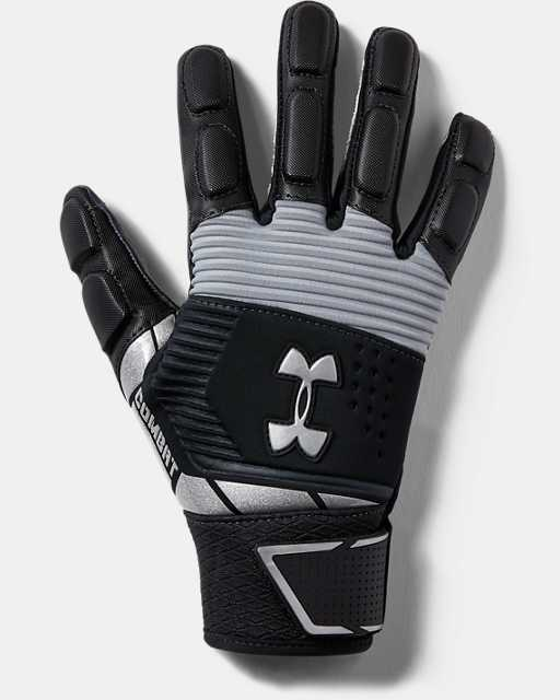 Youth UA Combat Football Gloves