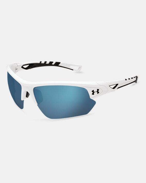 UA Octane Baseball Sunglasses, White, pdpMainDesktop image number 0