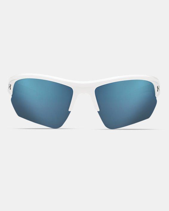 UA Octane Baseball Sunglasses, White, pdpMainDesktop image number 1