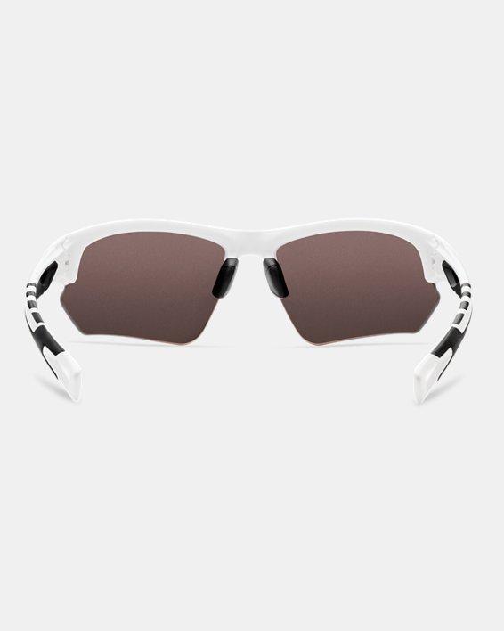 UA Octane Baseball Sunglasses, White, pdpMainDesktop image number 2