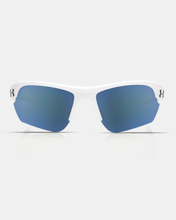 Kids' UA TUNED™ Baseball Windup Sunglasses, White, pdpMainDesktop image number 2
