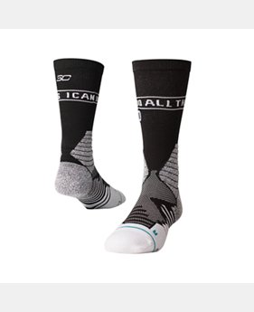 PRO PICK Men's UA x Stance SC30 Crew Socks  2 Colors $20