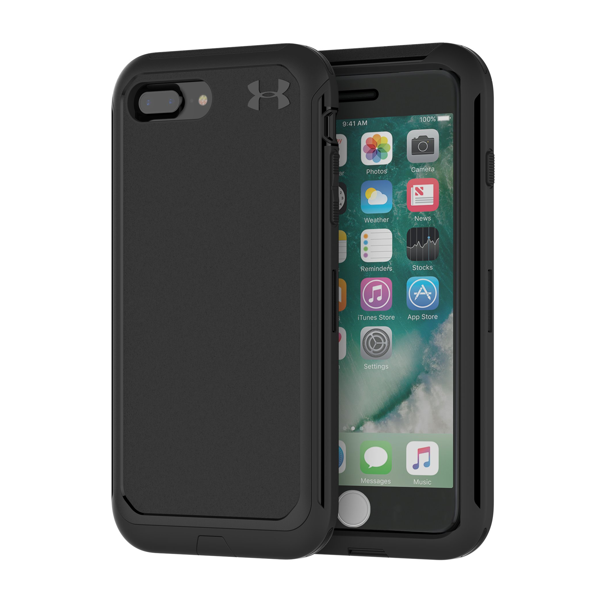 UA Protect Ultimate Case for iPhone 8 Plus/7 Plus/6 Plus/6s Plus, Black