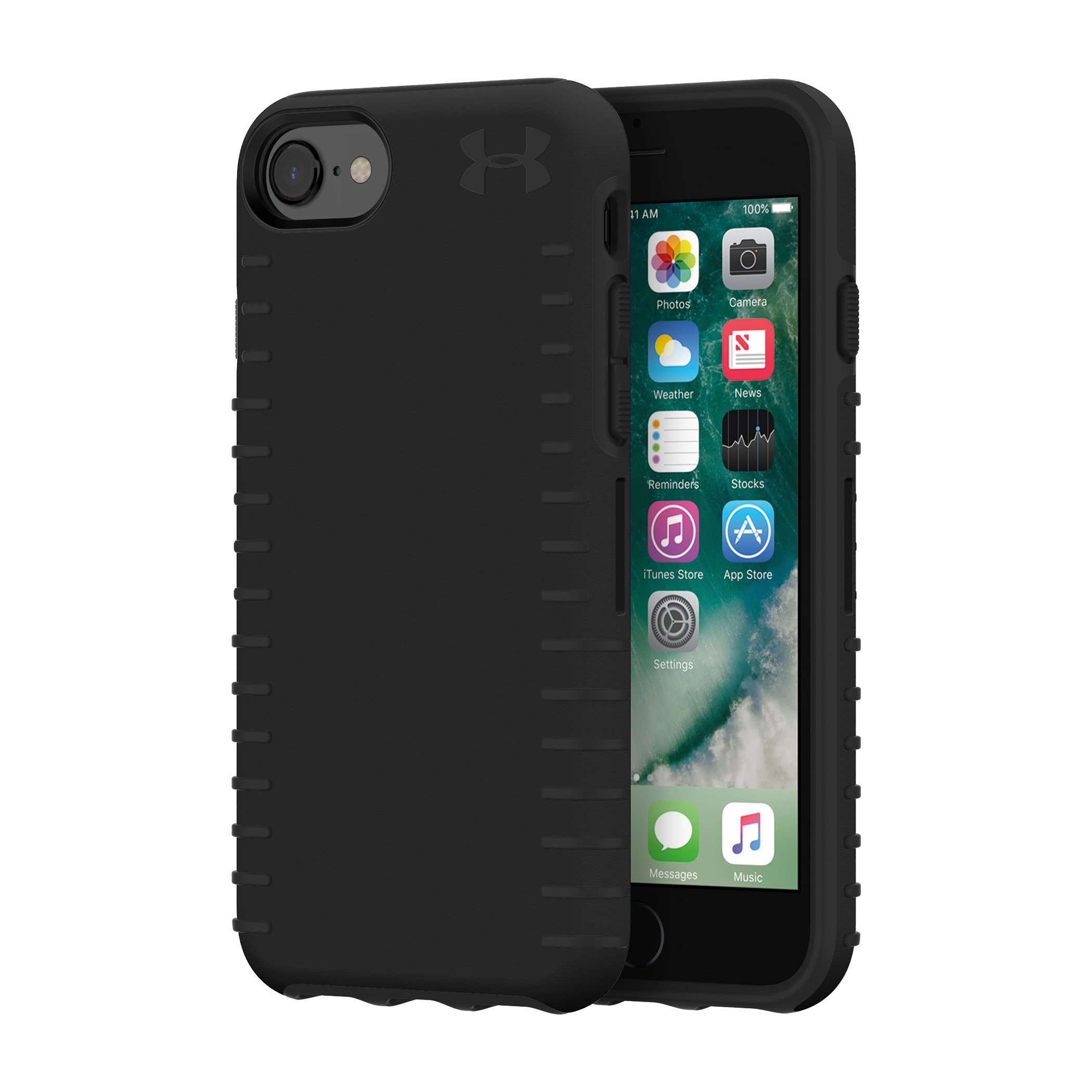 UA Protect Grip Case for iPhone 8/7/6s/6, Black