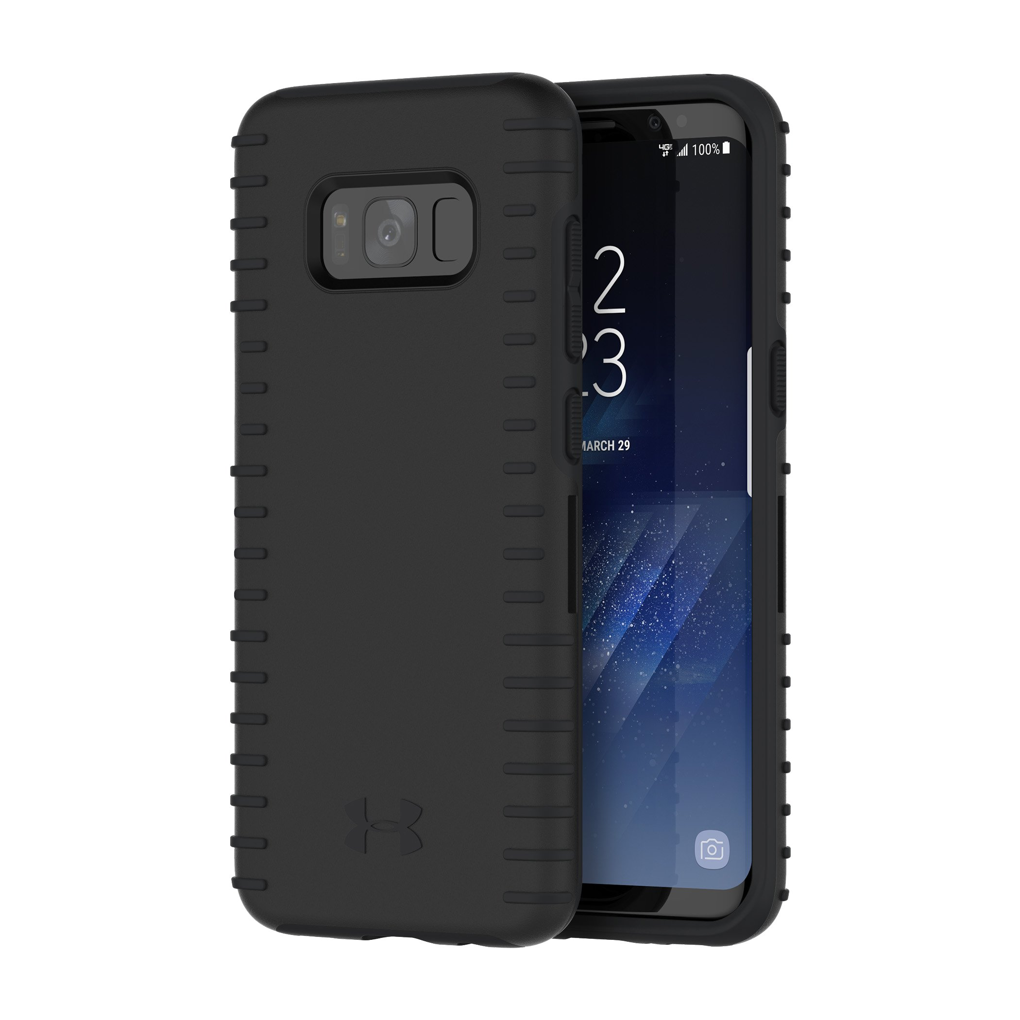 UA Protect Grip Case for Samsung Galaxy S8, Black