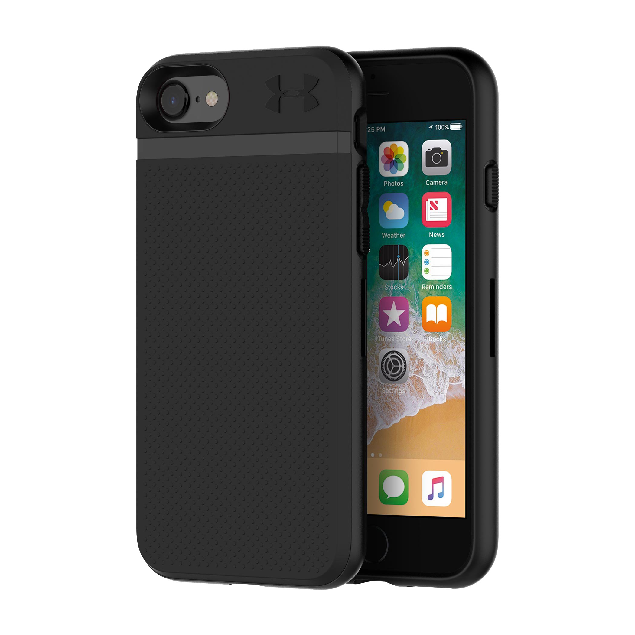 UA Protect Stash Case for iPhone 8/7, Black