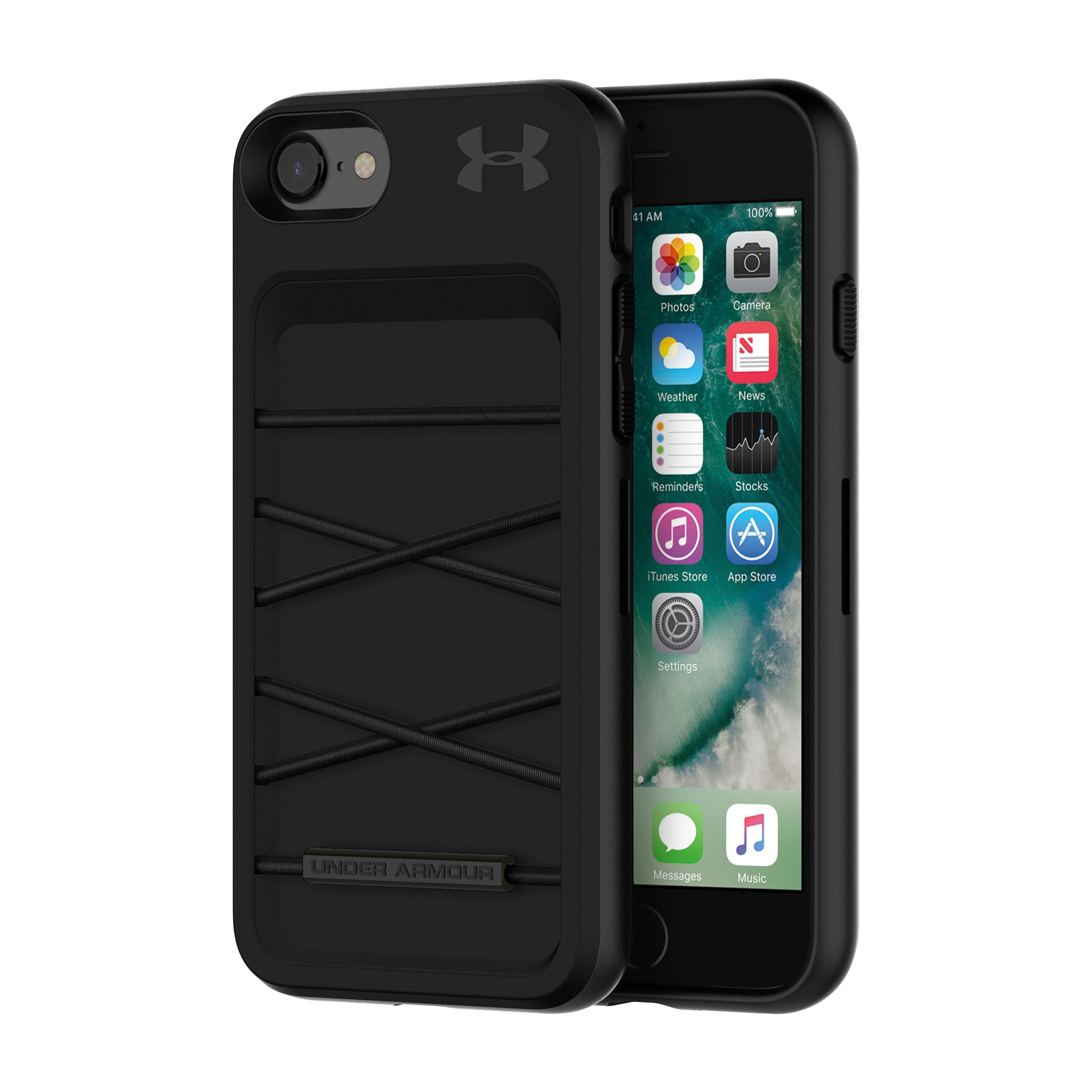 UA Protect Arsenal Case for iPhone 8/7, Black