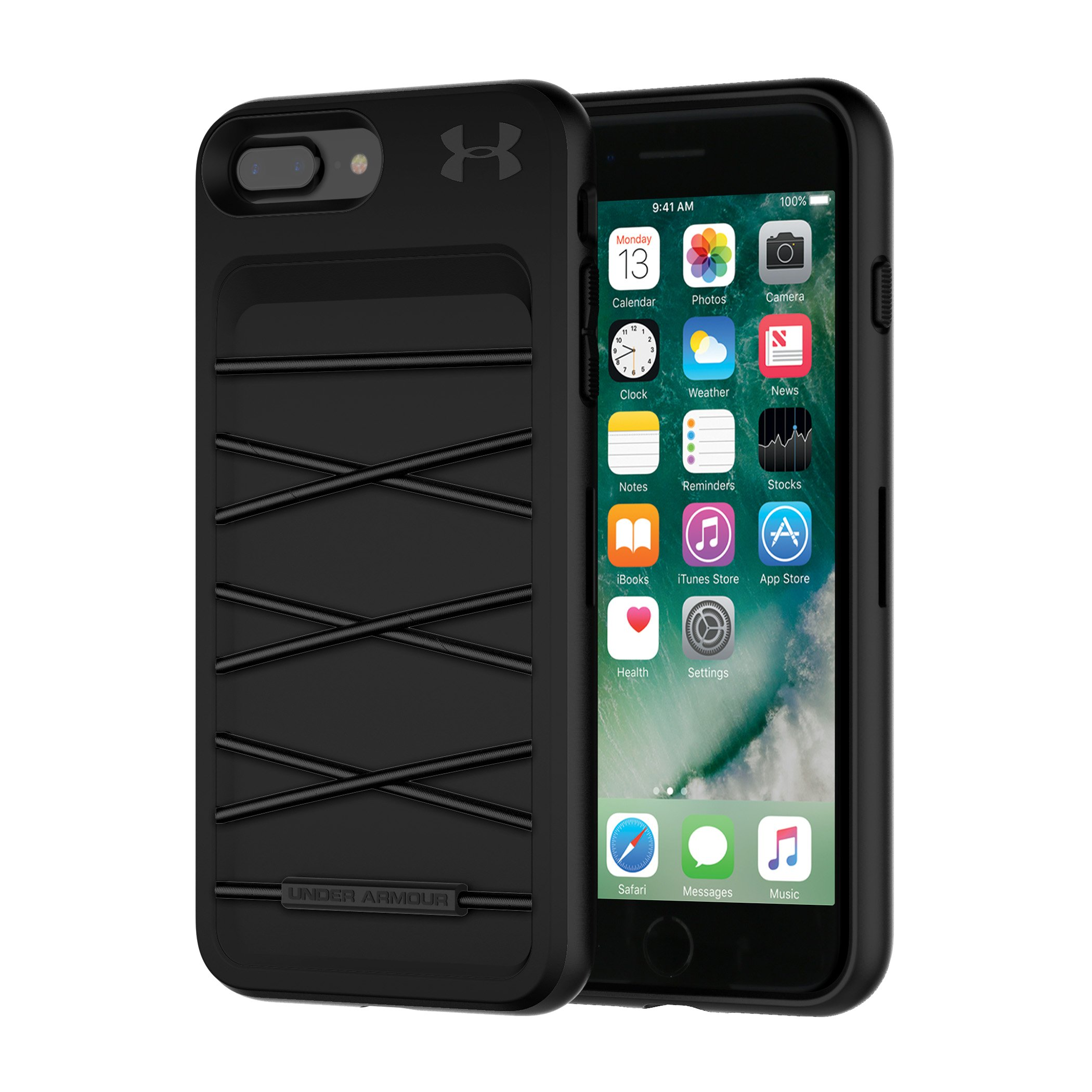 UA Protect Arsenal Case for iPhone 8 Plus/7 Plus, Black