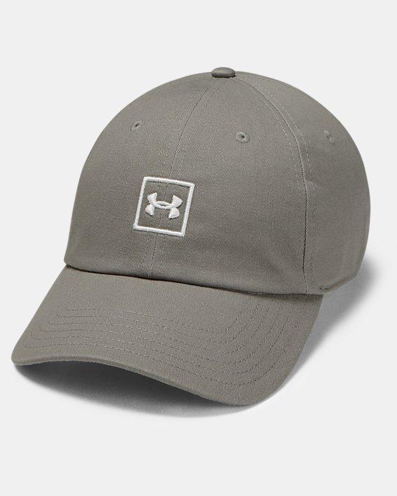 Men's UA Washed Cotton Cap, Green, pdpMainDesktop image number 0
